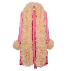 Viktor & Rolf Pink Ruffle Robe Atelier Couture Sample