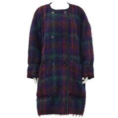 1980's Anne Klein Mohair Coat