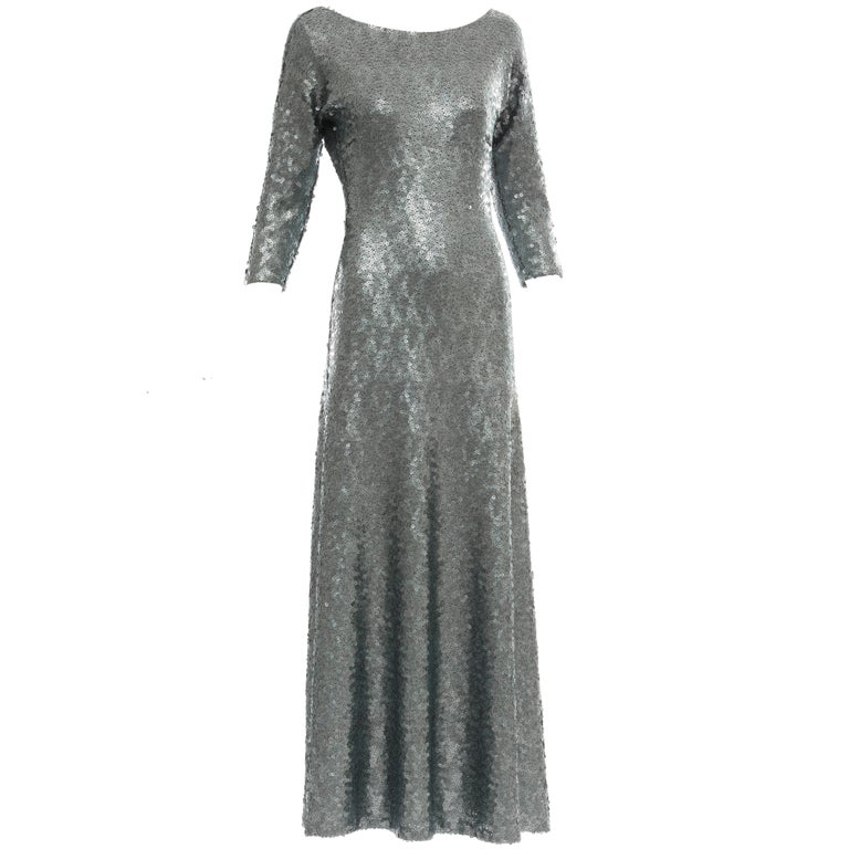 19efeeb17c5 Marc Jacobs Sequin Evening Dress Vogue Cover