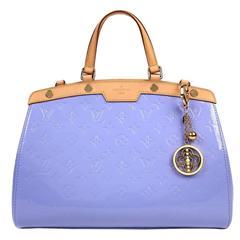 Louis Vuitton Lavender Monogram Vernis Leather Brea MM