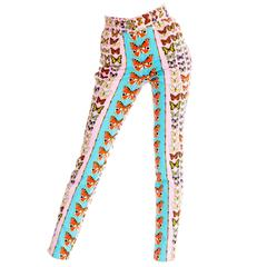 Gianni Versace Couture Iconic Butterfly Jeans