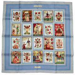 Hermes Imagerie 90mm Silk Scarf NEW