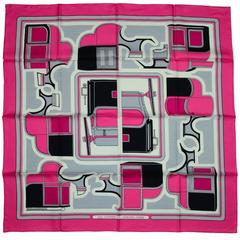 Hermes Les Coupes 90cm Silk Scarf NEW