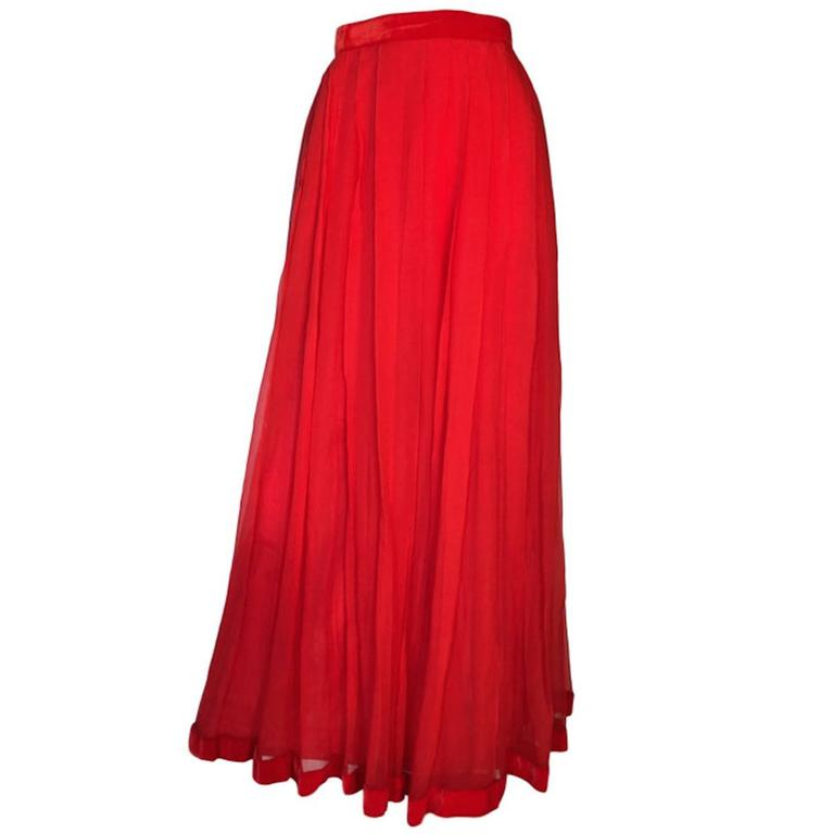 vintage harrods 1950s evening silk chiffon maxi