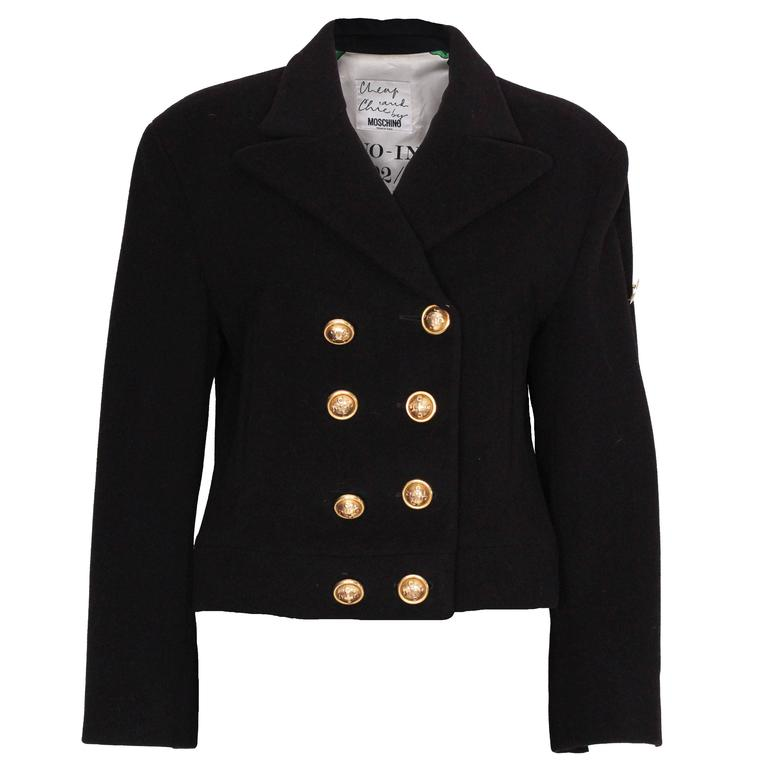 Wool and Mohair Jacket by Moschino Cheap and Chic. 1