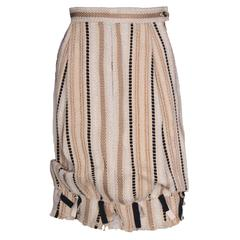 Yves Saint Laurent Rive Gauche Bubble Skirt