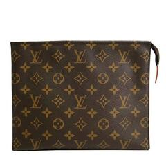 Louis Vuitton Monogram Canvas Men's Unisex Carryall Storage Travel Clutch Bag