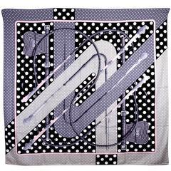 Gorgeous Hermes Cashmere Silk Shawl GM