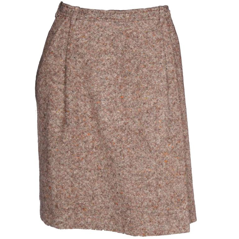 Yves Saint Laurent Rive Gauche Wrap over Skirt.