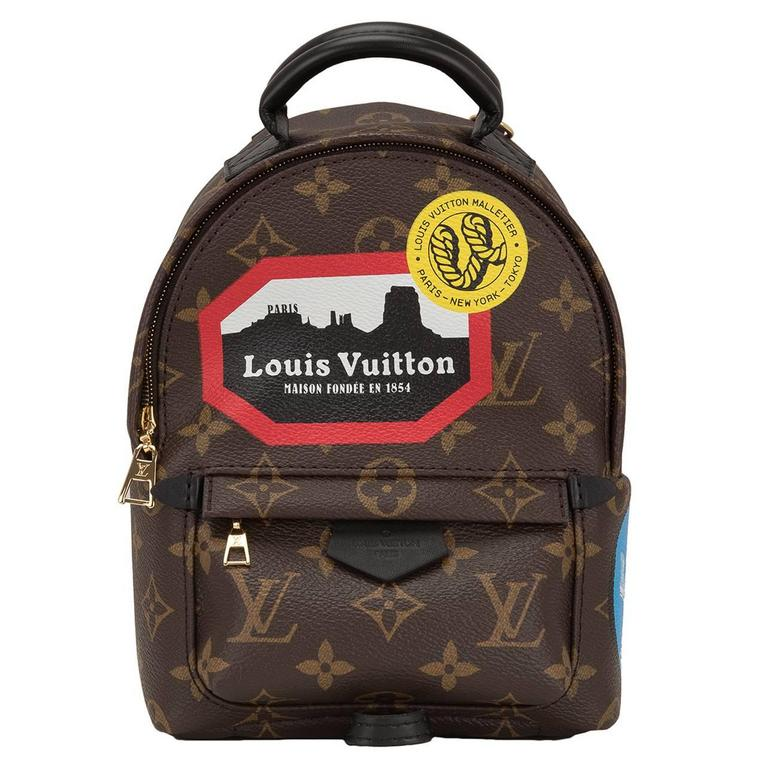 "Louis Vuitton Palm Springs ""World Tour"" Backpack Mini For Sale"