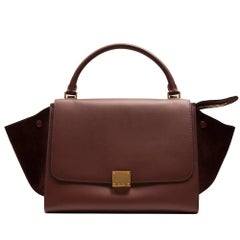 Céline Brown Trapeze Bag