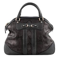 Gucci Catherine Top Handle Bag Python Large