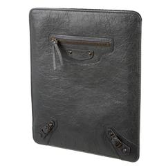 Balenciaga NEW Leather iPad Tech Accessory Storage Travel Carrying Case