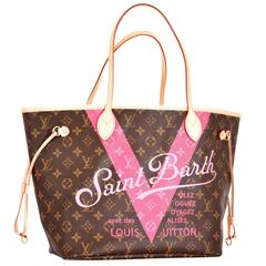 Limited Louis Vuitton Saint Barth Neverfull Tote Stunning
