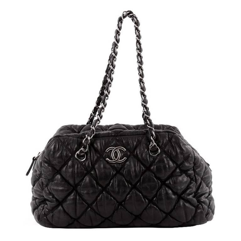 df6f5ebedad4 Chanel Bubble Bowler Bag Quilted Lambskin Medium at 1stdibs
