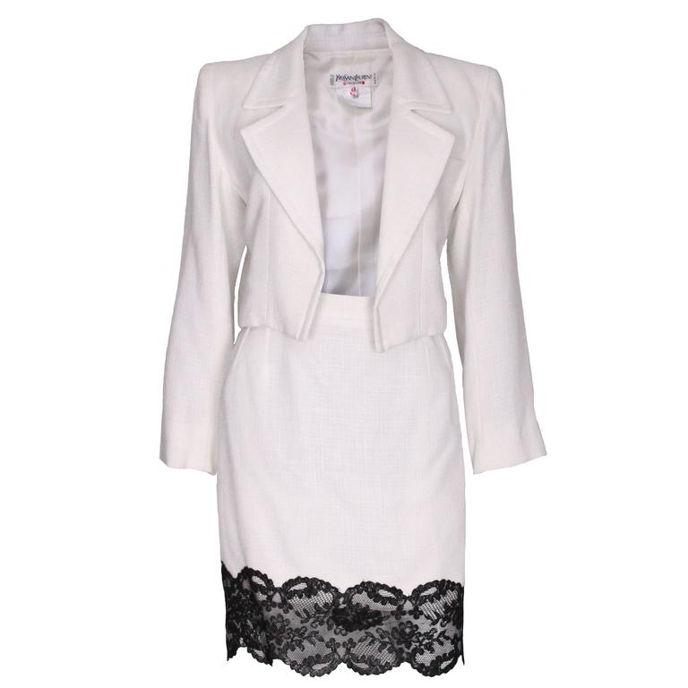 Yves Saint Laurent Skirt Suit
