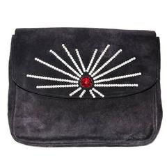 Gorgeous and a collector piece of Sonia Rykiel clutch 80s