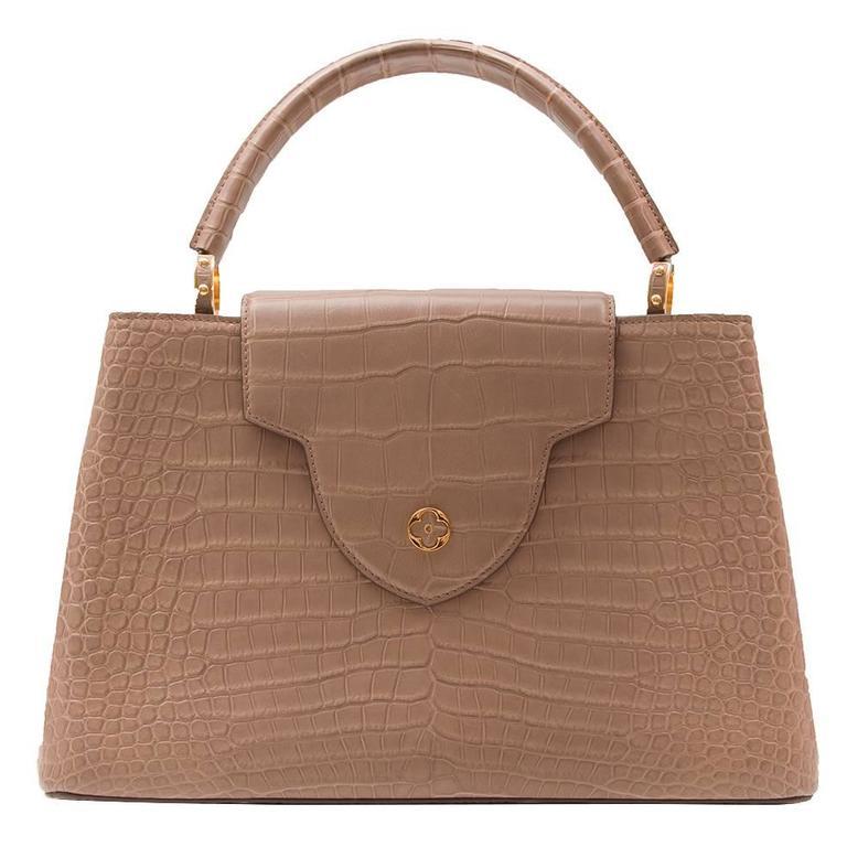 Louis Vuitton Alligator Tote Bag