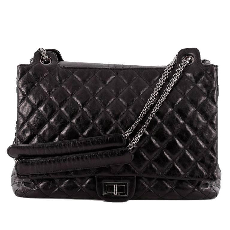 Chanel Accordion Reissue Flap Bag Quilted Calfskin XL at 1stdibs feae0ae748c9c