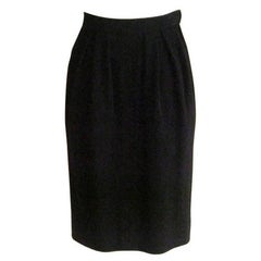 1980s Yves Saint Laurent RG wool skirt