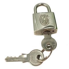 Goyard Luggage Lock and Key Set
