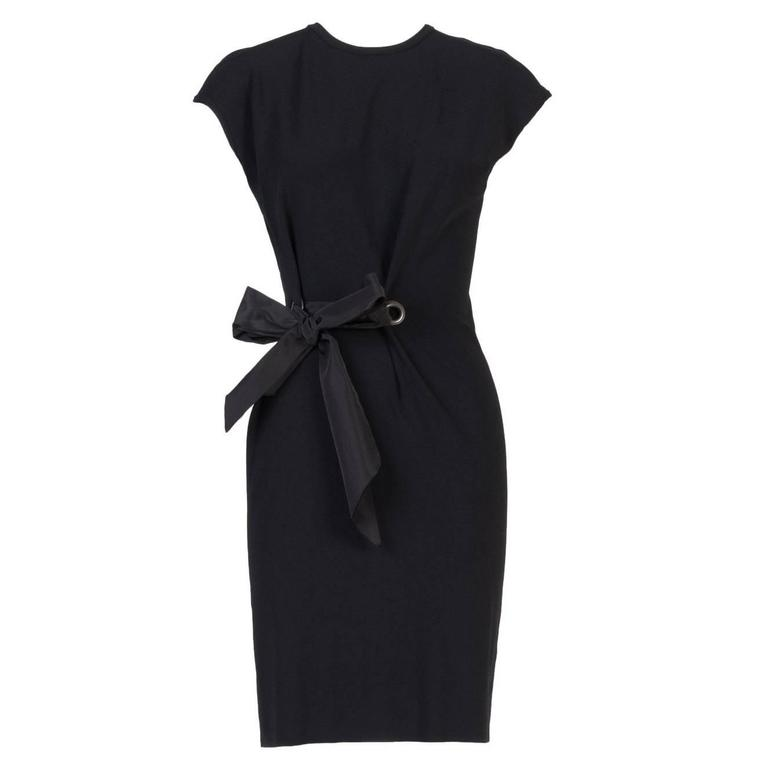 Lanvin Bow Front Dress