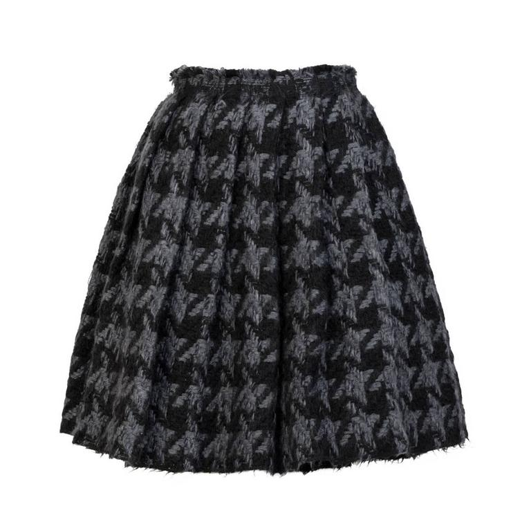 MIU MIU Pleated Wool Skirt