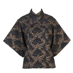 Kenzo Deco-Chinoiserie  Blouse