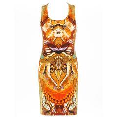 "ALEXANDER MCQUEEN Spring 2010 ""Plato's Atlantis"" Moth Camouflage Tank Dress"