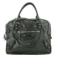 Balenciaga Office Covered Giant Brogues Handbag Leather