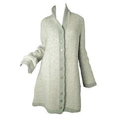 Rare 1990s Alaia Sweater Coat