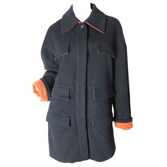Karl Lagerfeld Coat, 1980s