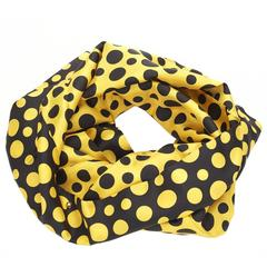 2010s Louis Vuitton Silk Dots Infinity Juane Yayoi Kusama Snood