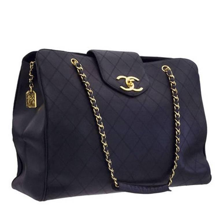 Chanel Quilted Overnight Bag 1