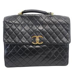 """Totally awesome Chanel maxi Jumbo  Briefcase. 15x12"""""""