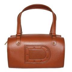 """Delvaux """"Le Astrid"""" fauve handbag 2006"""