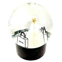 Rare Chanel Mini Snow Globe