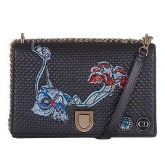Christian Dior Embellished Leather Bag