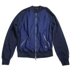 Louis Vuitton Bomber Jacket - Medium / Large - Blue Americas Cup Bomber Coat