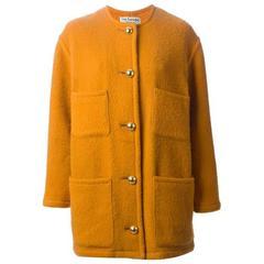 Sunflower Wool Guy Laroche Coat