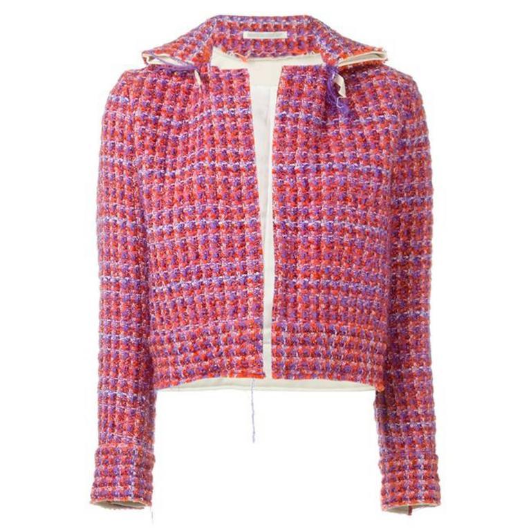 2000's Yohji Yamamoto Y's Lurex Tweed Jacket