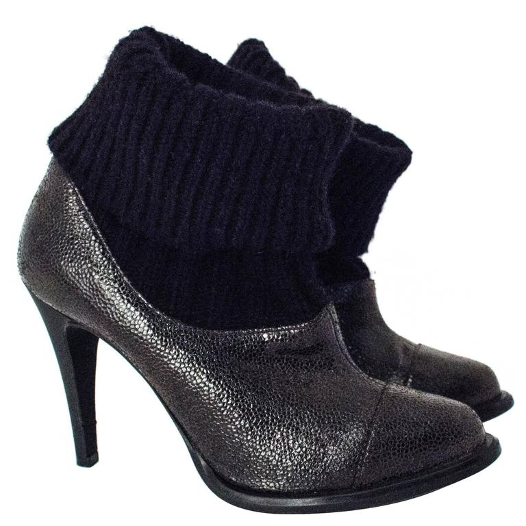 90s Stella McCartney Sock Bootie For Sale