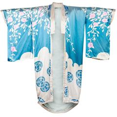 Tom Ford for Gucci Spring/Summer 2003 Menswear Blue Silk Kimono
