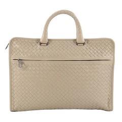 Bottega Veneta Soft Slim Briefcase Intrecciato Nappa