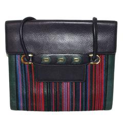 Delvaux multi-colored bag
