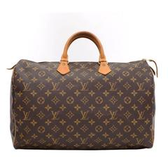 Louis Vuitton Speedy 40 Monogram Canvas Hand Bag