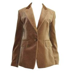 YSL Yves Saint Laurent Needlecord Riding Jacket Blazer