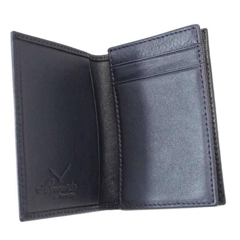Exclusive Breguet Letaher Cardholder