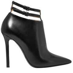 Bottega Veneta NEW & SOLD OUT Runway Black Leather Ankle Booties in Box