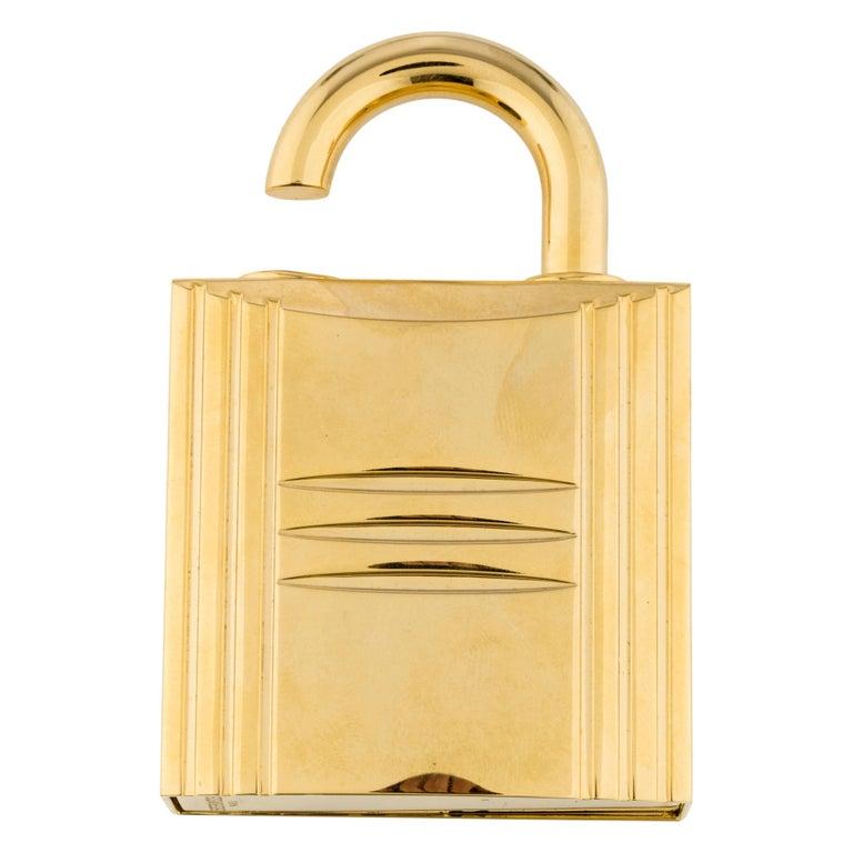 Hermes Cadena Lock Men's Women's Travel Storage Scent Atomizer In Box For Sale